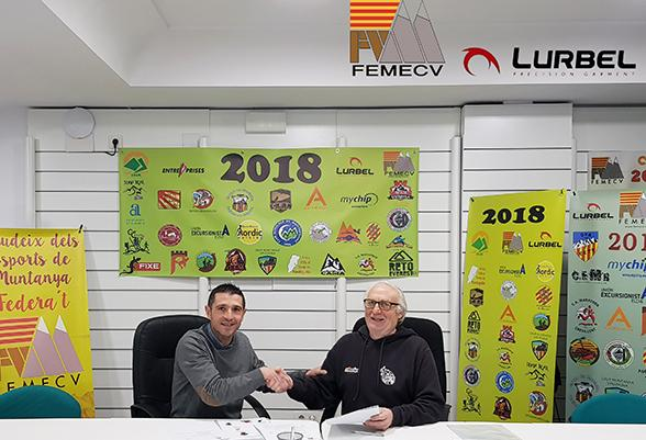 Lurbel renews its commitment with the FEMECV and extends it to the Nordic Walking.